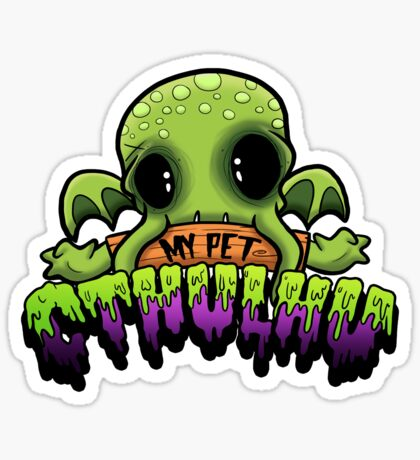Creepies - My Pet Cthulhu Sticker