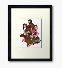the last of us (clump) Framed Print