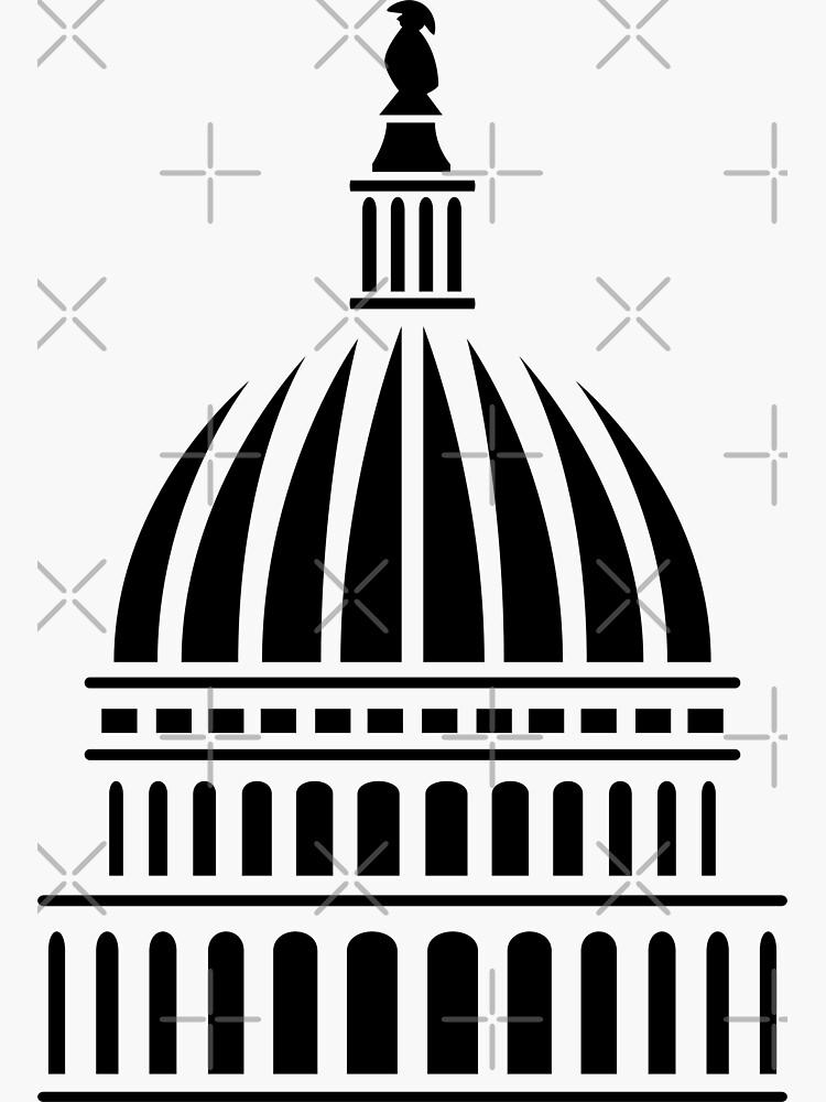 Washington D.C. Capitol Building Dome by hobrath