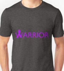 Warrior Ribbon - Purple T-Shirt