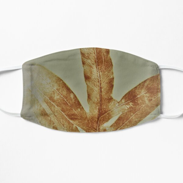 Winter 2021 Fern  Flat Mask