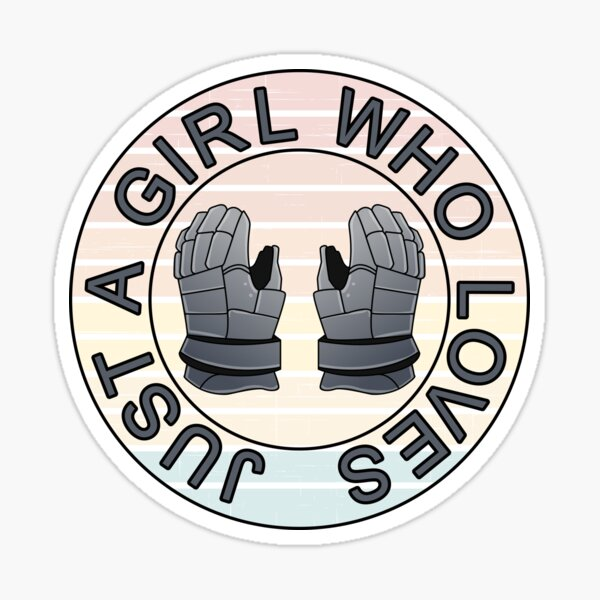 Just a girl who loves boxing Sticker