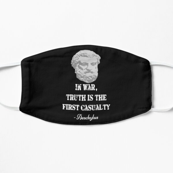 Aeschylus quote Mask