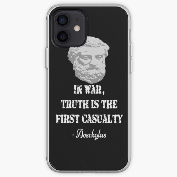 Aeschylus quote iPhone Soft Case