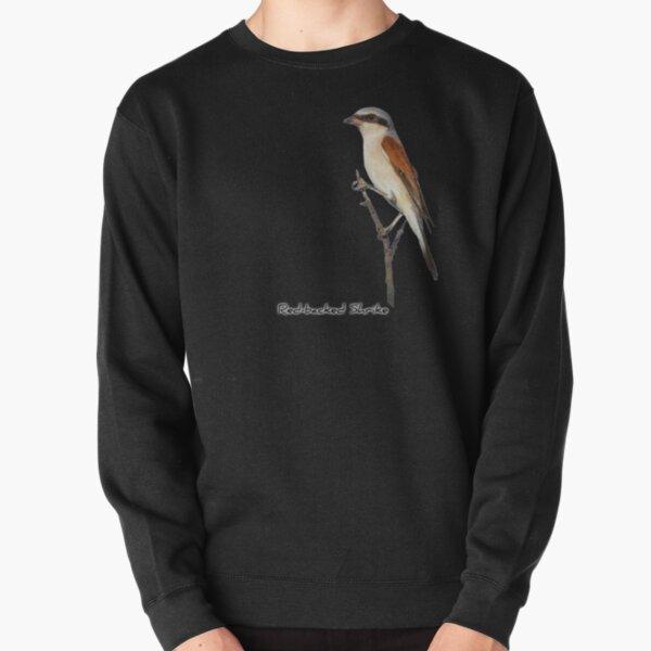Red-backed Shrike Pullover Sweatshirt