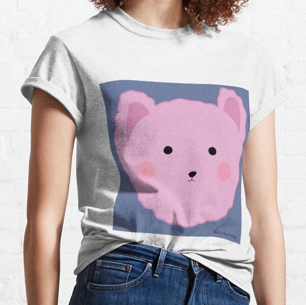 Pink bear sticker Classic T-Shirt