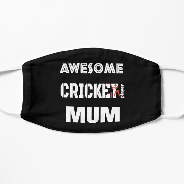 Awesome Cricket Player Mum Mask