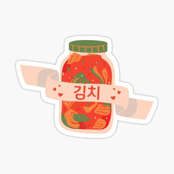 Love Kimchi Sticker