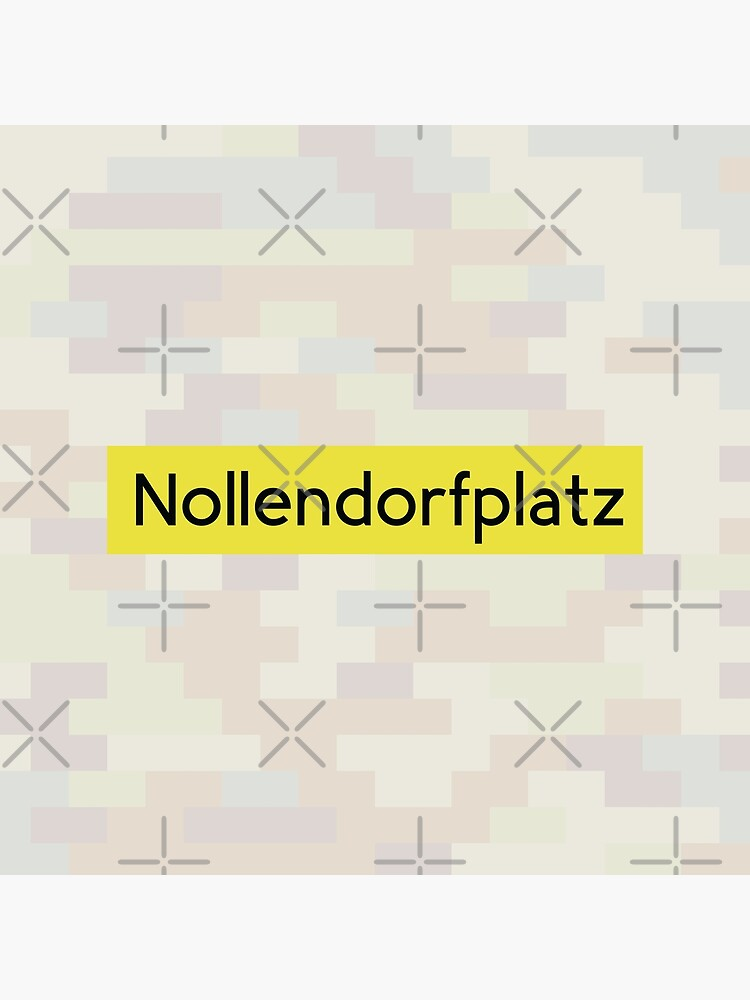 Nollendorfplatz Station Tiles (Berlin) by in-transit