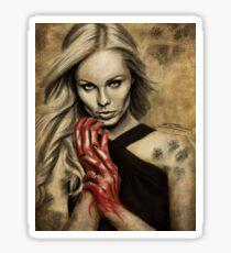 Wolf Blood Sticker