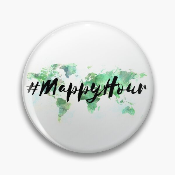 #MappyHour Pin
