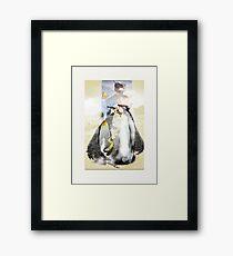 penguin diva - moody summer  Framed Print