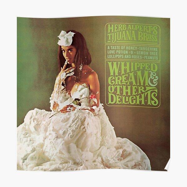 Herb Alpert - Whipped Cream & Other Delights Album Cover Art Poster