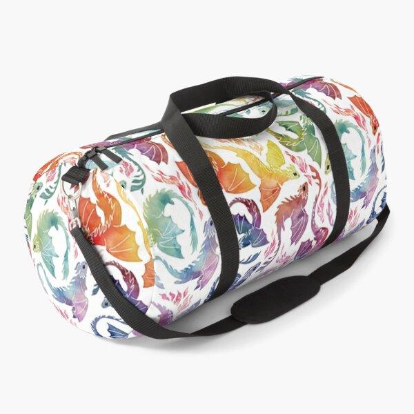 Dragon fire rainbow Duffle Bag