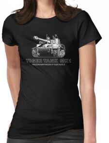 Tiger Tank Mark 1 Womens Fitted T-Shirt