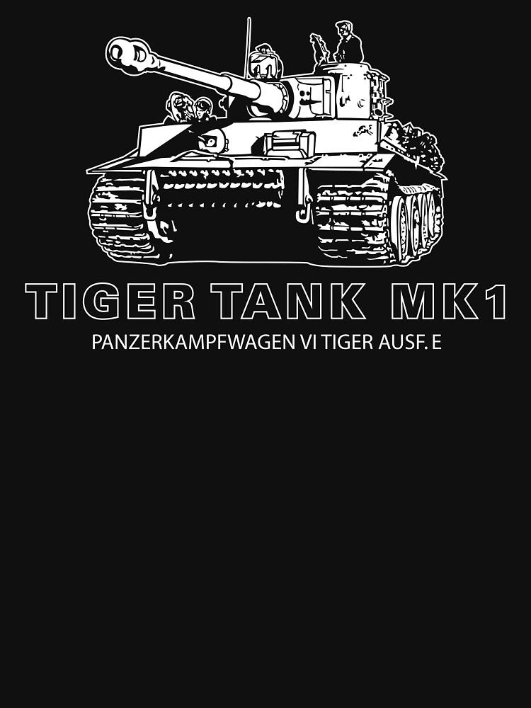 Tiger Tank Mark 1 by b24flak