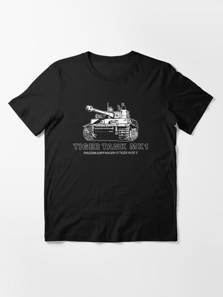 Alternate view of Tiger Tank Mark 1 Essential T-Shirt