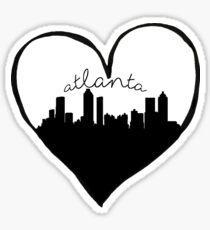 Atlanta City Love Sticker