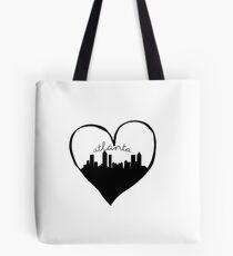 Atlanta City Love Tote Bag