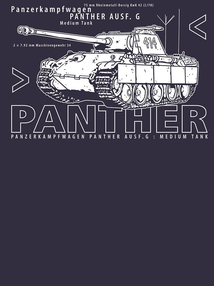 Panther Tank by b24flak
