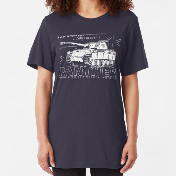 Panther Tank Slim Fit T-Shirt