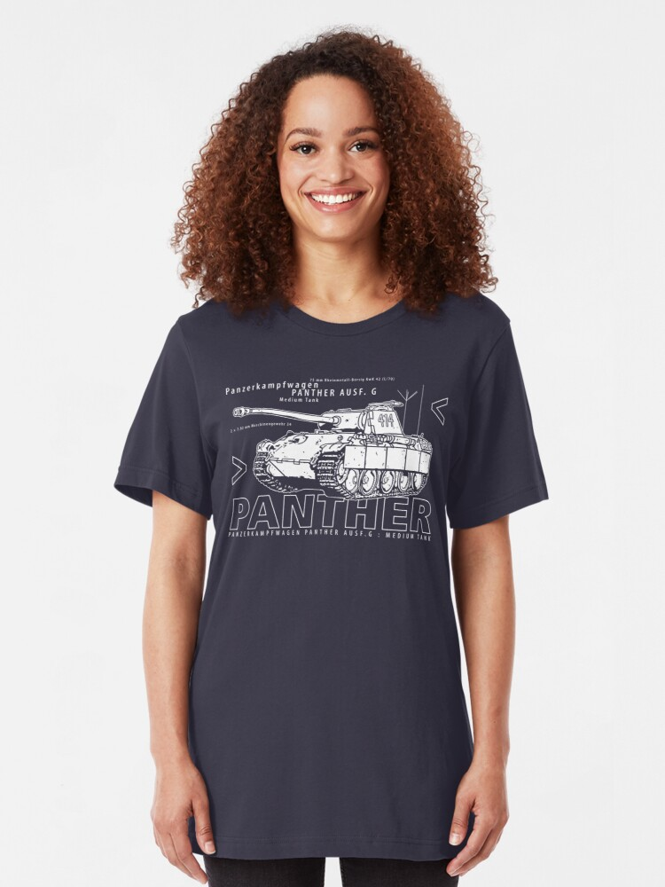 Alternate view of Panther Tank Slim Fit T-Shirt