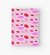 Kiss Me <3 Hardcover Journal