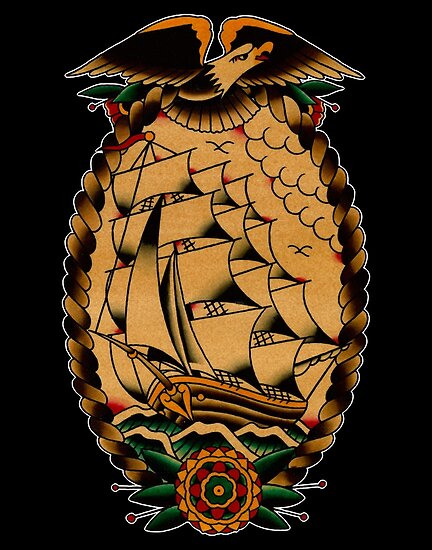 Clipper Ship by spiders-eye