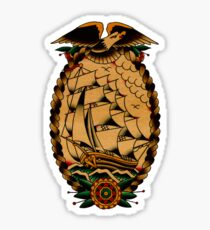 Clipper Ship Sticker
