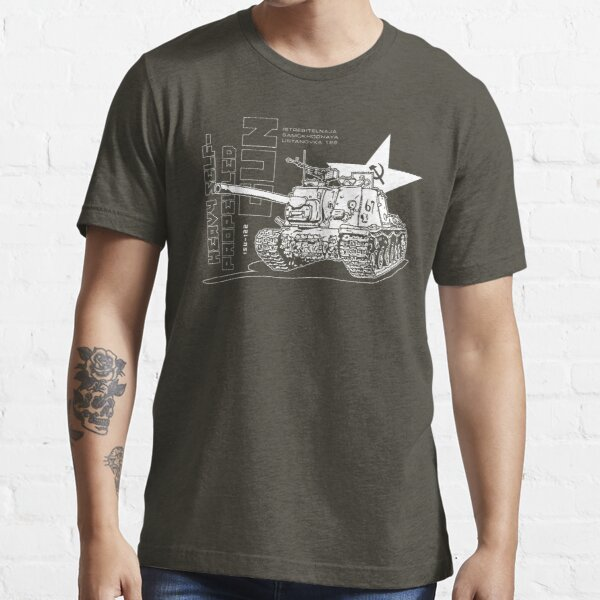 ISU-122 Self-Propelled Gun Essential T-Shirt