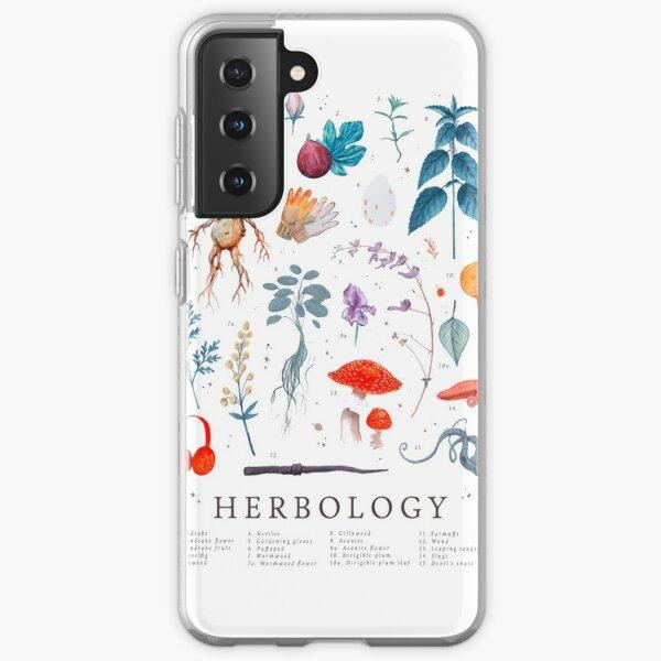Herbologie plantes Harry Coque souple Samsung Galaxy