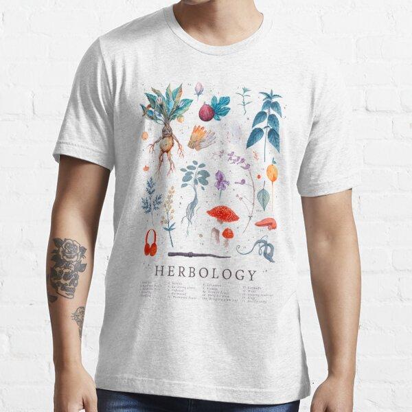 Herbología Harry Plantas Camiseta esencial