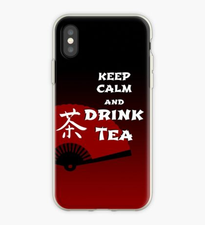 Keep Calm and Drink Tea - dark asia edition iPhone-Hülle & Cover