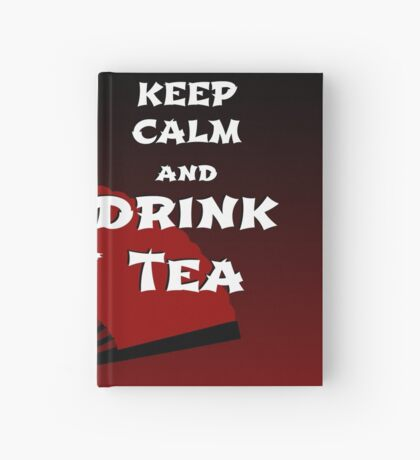 Keep Calm and Drink Tea - dark asia edition Notizbuch