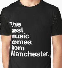 Manchester Music Graphic T-Shirt