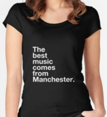 Manchester Music Women's Fitted Scoop T-Shirt