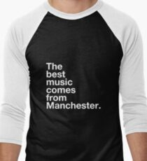 Manchester Music Men's Baseball ¾ T-Shirt