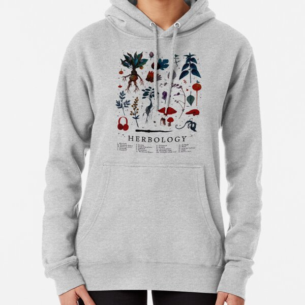 Herbology Harry Plant Pullover Hoodie