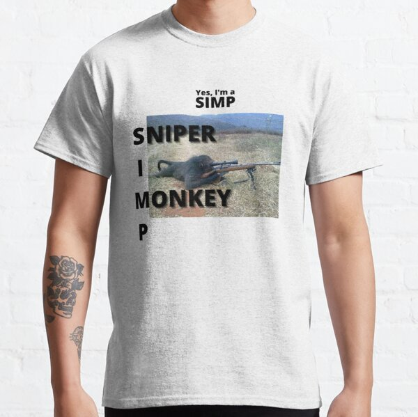 Sniper Monkey Classic T-Shirt