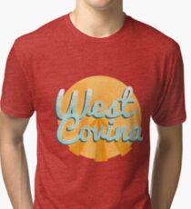 west covina cali Tri-blend T-Shirt