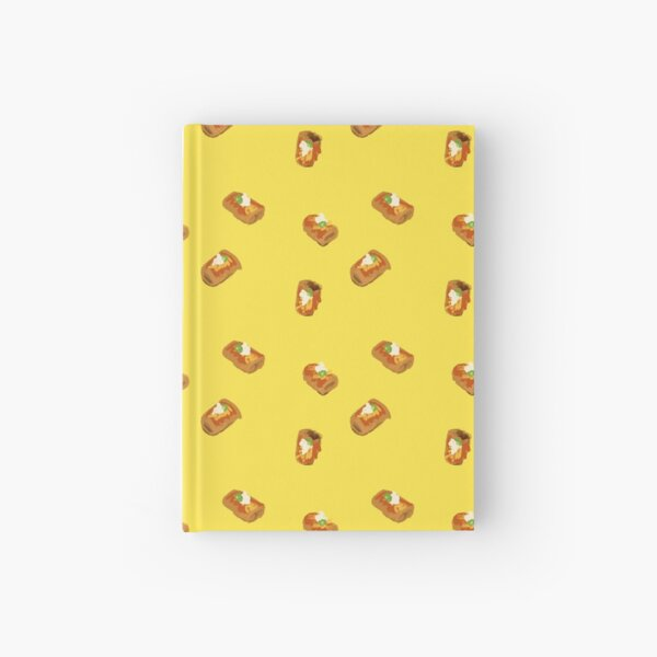 Chimichangas on Yellow Hardcover Journal