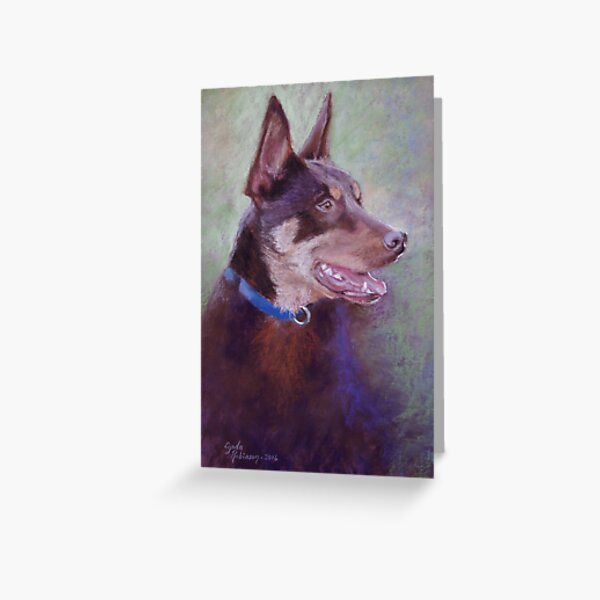 'Kevin the Kelpie' Greeting Card