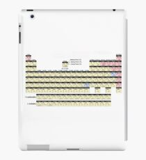 Periodic table of elements  iPad Case/Skin
