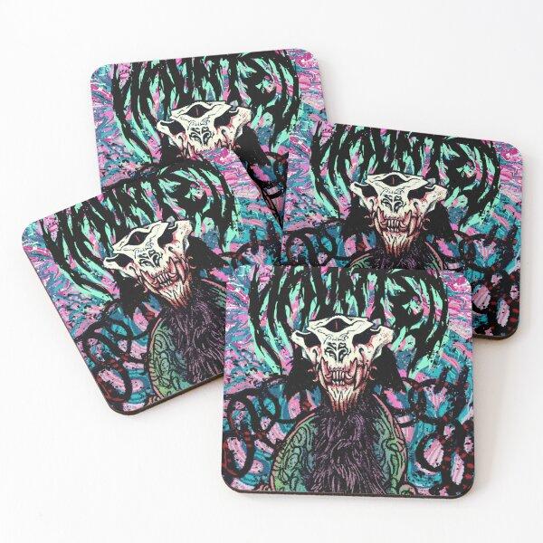 HYENA CULT Coasters (Set of 4)