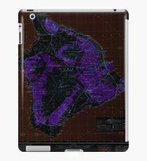 USGS TOPO Map Hawaii HI Hawaii 349916 1975 250000 Inverted iPad Case/Skin