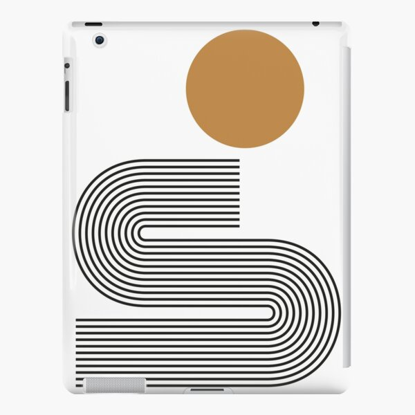 Mid century study no.9 iPad – Leichte Hülle