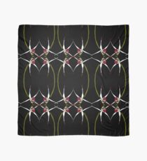 Exotic Native Orchid Mirror Design Scarf