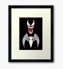 Spider's anti-hero Framed Print