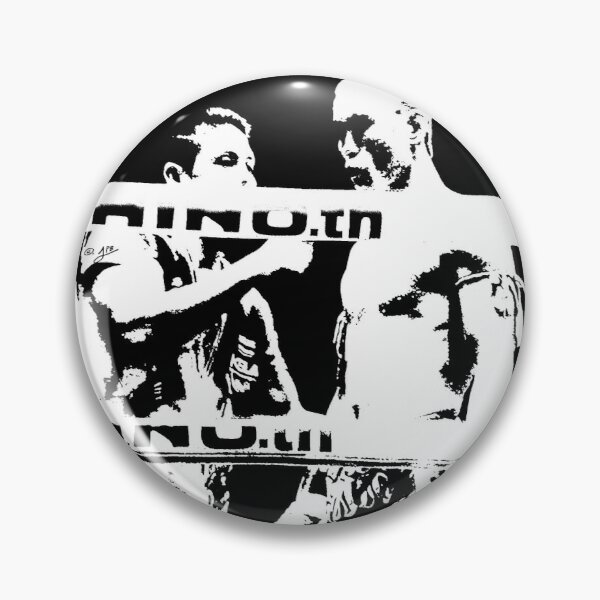 Thai Boxer in the Ring Pin