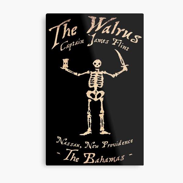 Black Sails - The Walrus Metal Print